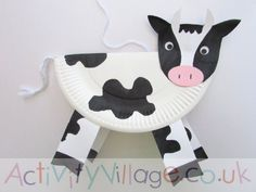 Paper Plate Cow…