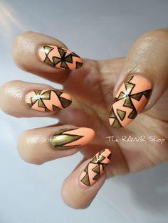 The RAWR Shop #nail #nails #nailart