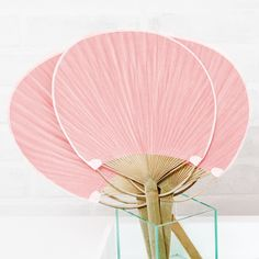 Paddle Fan Classic Pink - Shop on WeddingWire! Fun Photo, Photo Props, Wow Events, Accessoires Photo, Wedding Fans, Tiki Wedding, Umbrella Wedding, Wedding Favors For Guests, Wedding Welcome Bags