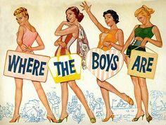 Where the Boys Are Nostalgia