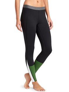 Block Studio Legging - A DEREK LAM 10 CROSBY DESIGN COLLABORATION. Colorblocked leggings with wicking compression fabric.