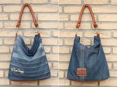Upcycling-Tasche Chobe stitchydoo: Upcycling-Tasche Chobe Jeans-Recycling par excellence The post Upcycling-Tasche Chobe appeared first on Frisuren Tips - Woman Fashion Diy Jeans, Jeans Recycling, Diy Kleidung Upcycling, Jean Diy, Denim Crafts, Upcycled Crafts, Repurposed, Diy Clothes, Clothes For Women
