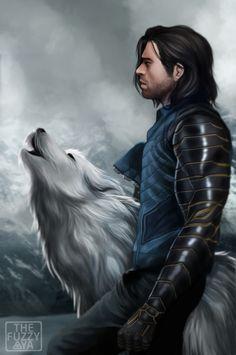 White Wolf! thefuzzyaya