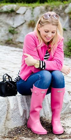 18 Stylish Ways Of How to Wear Rain Boots In Fall and Winter