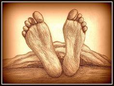La BASE dellumanità/ The base of humankind #drawing #feet