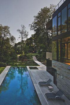 Pool im Brandywine House