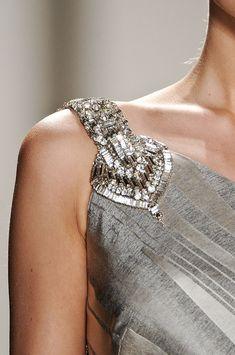 Detalhe vestido Carolina Herrera