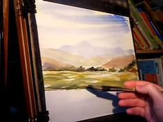YouTube Ron Ranson | Download Watercolour Landscape Painting Demonstration featuring ...