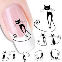Stylish Hot 1Pcs Professional Cat Water Transfer Slide Decal Sticker Nail Art Tips To Decor for Nail artificial beauty Tools #>=#>=#>=#>=#> Click on the pin to check out discount price, color, size, shipping, etc. Save and like it!