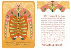 fairylene: Abraham-Hicks☆☆☆☆☆Health & The Law of Attraction Card