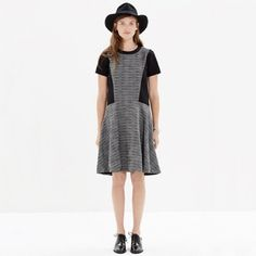 Madewell textured tribune dress Good used condition size 12 Madewell Dresses