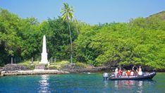Snorkeling Captain Cook Monument  Big Island