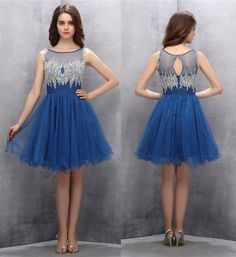 A-line Homecoming Dresses,Beading Homecoming Dresses,Sweetheart prom dress,Cute Homecoming Dresses,Short Prom Gown,Royal Blue Prom Dresses