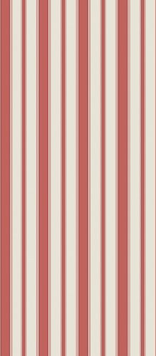Cambridge    This smart and well-proportioned university stripe is presented in six timeless colour ways, including a drawing room red on sand and a striking black and white. Some colour ways incorporate a hint of opulence with fine metallic edges. Cole & Son Festival Stripes.
