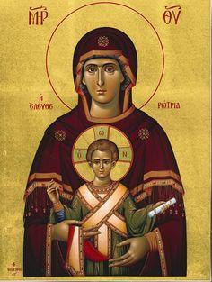 """Παναγία Ελευθερώτρια / Theotokos Eleftherotria (""""The Liberator"""")"""
