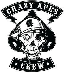 Crazy Apes Crew Graffiti Montreal
