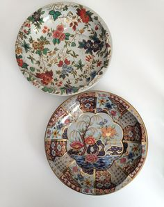 Daher Decorated Ware Tray Made In England Simple Lot Of 2 Vintage Daher Decorated Ware Metal Bowl Tray Floral Made Design Inspiration