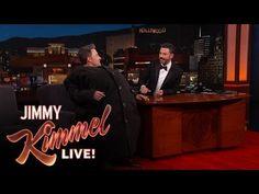 """Ben Affleck Sneaks Matt Damon Onto """"Jimmy Kimmel Live!"""" - YouTube"""