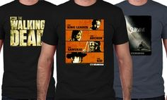 Groupon - The Walking Dead Men's T-Shirts with Bonus Fridge Magnet  in [missing {{location}} value]. Groupon deal price: $24.99