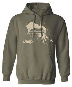 Jeep Wrangler Mud Splat Hoodie