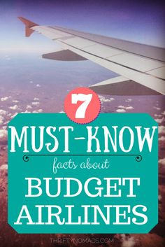 Are budget airlines safe to fly? Are they really cheaper with all the added fees? Here's what you MUST know about budget airlines!