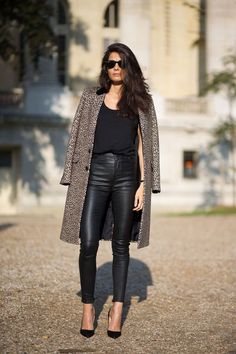 leather and panther done right