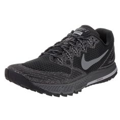 Nike Men s Air Zoom Wildhorse 3 Black Running Shoes 78881277a
