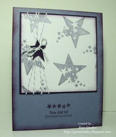 Graduation card by pamshobby - Cards and Paper Crafts at Splitcoaststampers