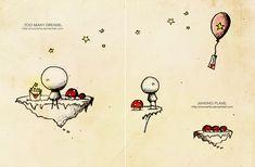 .Too many dreams. by Nonnetta.deviantart.com on @DeviantArt