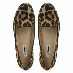 deded3ccf9c DUNE LADIESLIMBO - Leopard Print Pony Slipper Shoe By Dune London   dunelondon  dune