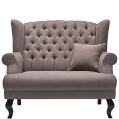GRAND DUC Armchair Taupe