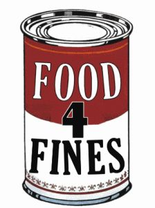 Celebrate National Library week and help others with our FOOD FOR FINES program, April 14 – 20, 2013.   We will be accepting unexpired non-perishable food items as payment in full for new or existing fines owed to the Algonquin Area Public Library.  The food collected will be donated to area families through the Algonquin/Lake in the Hills Interfaith Food Pantry.