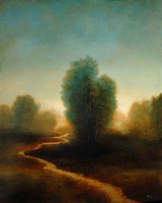 Roi James ~ The Path, 2007 (oil)