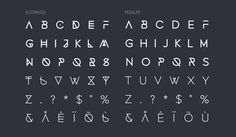 Image of FONECIAN - Typeface (Two Styles)