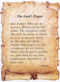 115 Best The Lords Prayer Images The Lords Prayer Lord Prayers