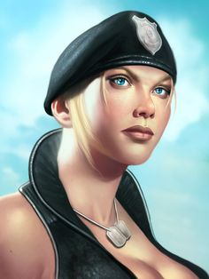 Sonya Blade Picture by George Patsouras - cgaddict