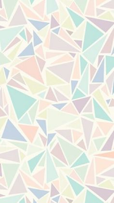 Pastel triangles!!