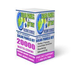 20000 Watt (20kW) Solar Ground Mount Kit With Solar Edge Inverter