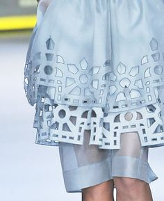 laser cutting hemline - a creative addition to a project