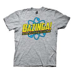 Bazinga Once Again Tri-Blend Tee
