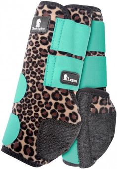 Limited Edition Classic Equine Mint Cheetah Legacy Boots