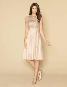 Not the colour you're after but lovely!  Anastasia Dress   Nude   Monsoon