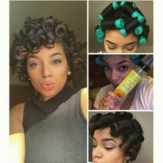 Love this natural style.:Jane Carter (perm rod set on natural hair) Natural Hair Inspiration, Natural Hair Tips, Natural Hair Journey, Natural Hair Styles, Natural Curls, Love Hair, Gorgeous Hair, Beautiful, Twisted Hair