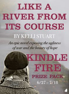 Travel back in time in Kelli Stuart's new novel, Like a River from Its Course, as the city of Kiev is bombed in Hitler's blitzkrieg across the Soviet Union. Celebrate the release of Like a River from Its Course with Kelli by entering to win a Kindle Fire Prize Pack. Click for details!
