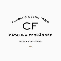 Catalina Fernández by Anagrama, 2012. Scope: #logo #design