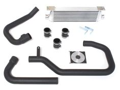 Euro Sport's Intercooler Kit for the VW® Mk4 Golf & Jetta 1.8T engine. The Euro Sport intercooler is constructed of an all aluminum bar & plate core wit