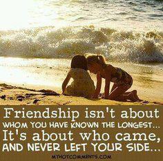 True friendship!!