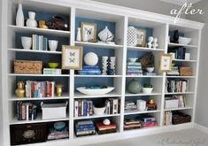 Built in made from IKEA BIlly Bookcases by dodihere