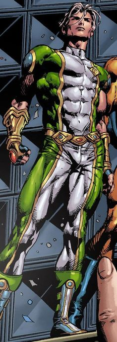 Marvel Boy Noh-Varr ~ art by Mike Deodato Jr.