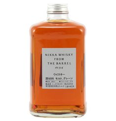 Packaging we like / Nikka from the Barrel / Whisky/ white label / Japan / Clean / Minimal / at galeria Kaufhof